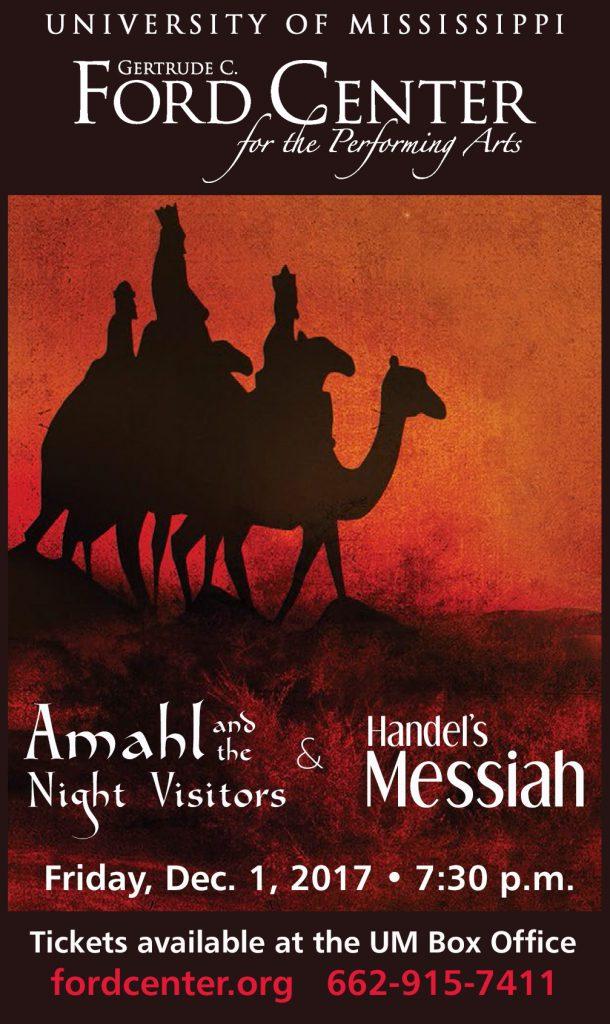 Amahl Ad - Opera Scenes Program